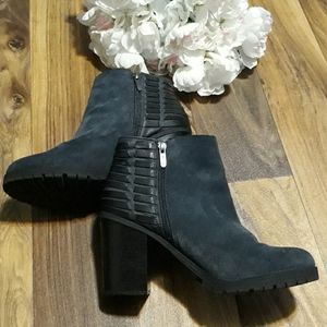 Circus by Sam Edelman Dover Blue Suede Booties